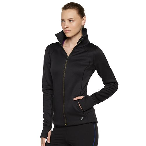 Women's FILA SPORT® Fleece Thumb Hole Jacket