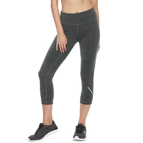 5cd7cca545d8 Women's FILA SPORT® Fleece Mid-Rise Capri Leggings