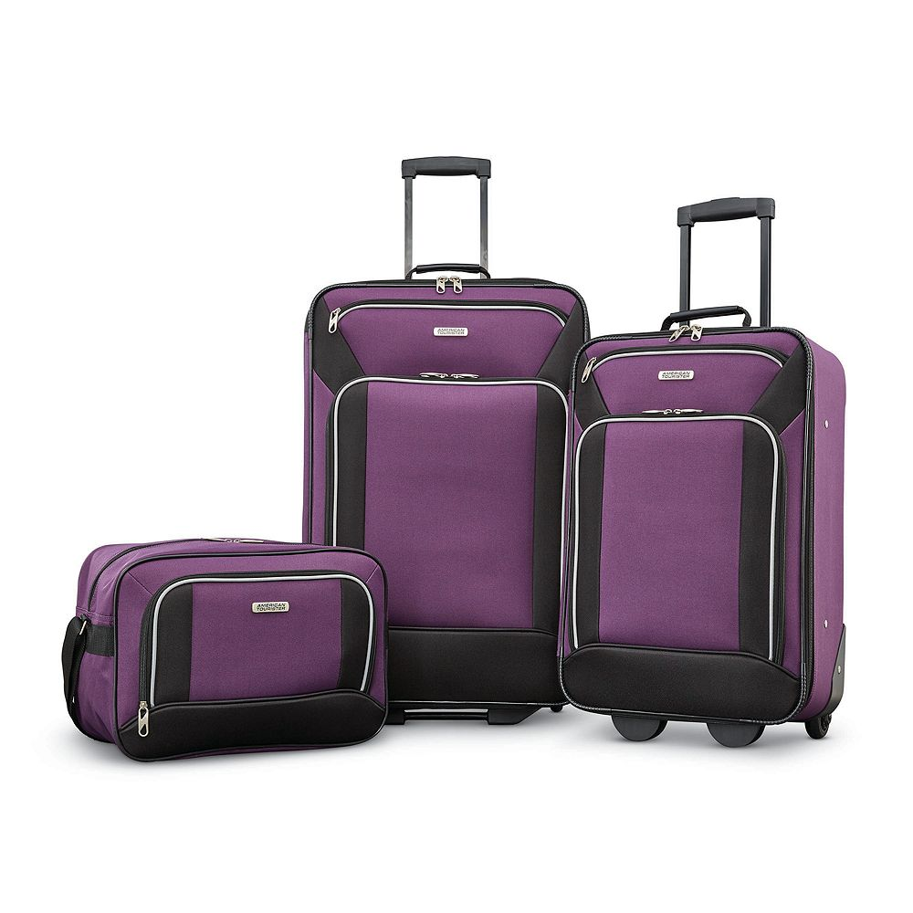 American Tourister Fieldbrook XLT 3-Piece Wheeled Luggage Set with Boarding Bag