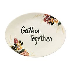 Celebrate Fall Together Harvest Serving Platter