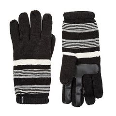 Women's isotoner Striped Knit SmartDRI Gloves