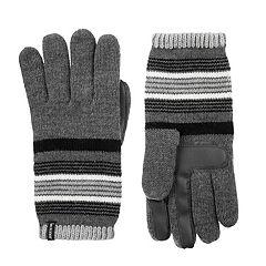 Women's isotoner Striped Knit SmartDRI Gloves