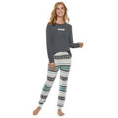 Women's SONOMA Goods for Life™ 2-piece Raglan Tee & Pants Pajama Set