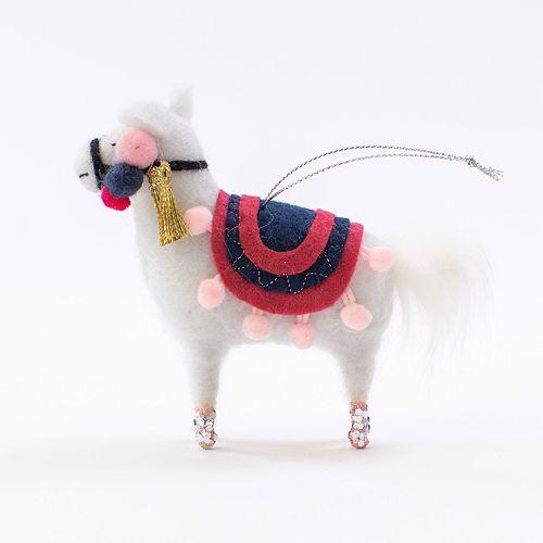 - LC Lauren Conrad Llama Christmas Ornament