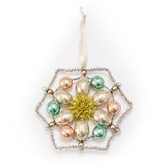 LC Lauren Conrad Intricate Snowflake Christmas Ornament