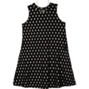 Girls 7-16 IZ Amy Byer Knit Sleeveless Swing Dress with Necklace