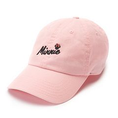 Disney's Minnie Mouse 90th Anniversary Women's Embroidered Baseball Cap