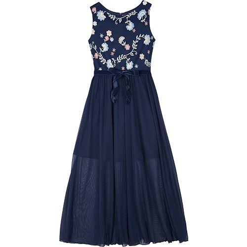 6bfc0f16f9ed Girls 7-16 IZ Amy Byer Sleeveless Floral Maxi Dress