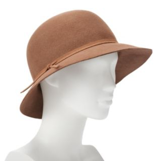 Women's Apt. 9® Solid Wool Felt Banded Cloche Hat