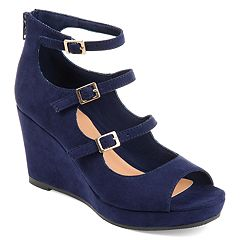 Journee Collection Skyla Women's High Heel Wedges