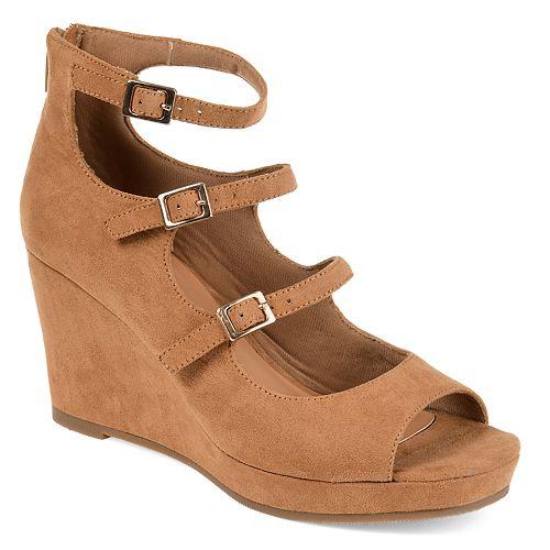 Journee Collection Skyla Women's High Heel Wedges