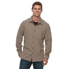 Men's ZeroXposur Classic-Fit Stretch Flannel Button-Down Shirt