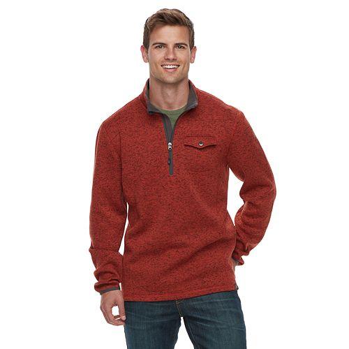 Men's ZeroXposur Classic-Fit Quarter-Zip Pullover