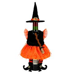 Celebrate Halloween Together Witch Costume Wine Bottle Cover