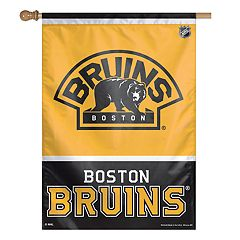 Boston Bruins Double-Sided Vertical Banner Flag
