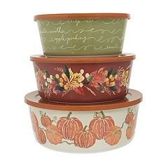 Celebrate Fall Together 3-piece Stacking Container Set