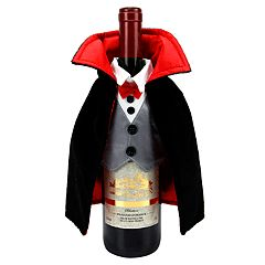 Celebrate Halloween Together Dracula Wine Bottle Cover