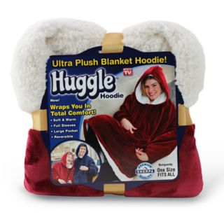 As Seen on TV Huggle Ultra Plush Blanket Hoodie