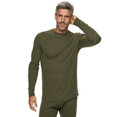 Men's Croft & Barrow® Thermal Base Layer Crewneck Underwear Tee