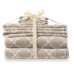 SONOMA Goods for Life™ Trellis 6-pack Ultimate Towel with Hygro® Technology