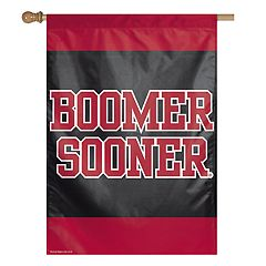 Oklahoma Sooners Double-Sided Vertical Banner Flag