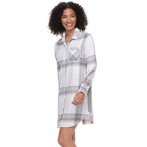 61d10c5bc4 Women s SONOMA Goods for Life™ Flannel Sleepshirt