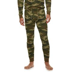 Men's Croft & Barrow® Camo Thermal Base Layer Underwear Pants
