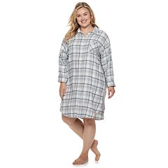 Plus Size SONOMA Goods for Life™ Flannel Sleepshirt