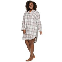 Plus Size SONOMA Goods for Life™ Flannel Sleepshirt