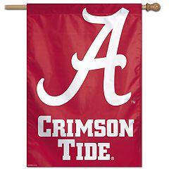 Alabama Crimson Tide Vertical Banner Flag