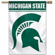 Michigan State Spartans Vertical Banner Flag