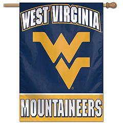 West Virginia Mountaineers Vertical Banner Flag