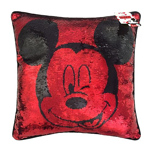 Disney's Mickey Mouse Shimmer Sequin Throw Pillow