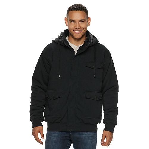Men's Victory Outfitters Quilted Fleece Hoodie