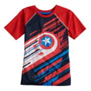 Boys 4-10 Jumping Beans® Marvel Captain America Raglan Graphic Tee