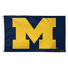 Michigan Wolverines Deluxe Flag