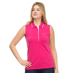 Women's IZOD Pique Sleeveless Polo