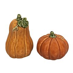Celebrate Fall Together Pumpkin Salt & Pepper Shaker Set