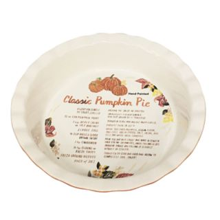 Celebrate Fall Together Pie Plate