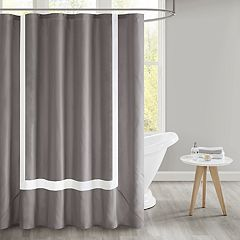 510 Design Hanson Pieced Border Shower Curtain & Liner
