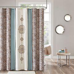 510 Design Marlena Embroidered Shower Curtain & Liner