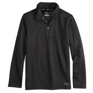 Boys 8-20 Tek Gear® Thermal Fleece Quarter-Zip Top