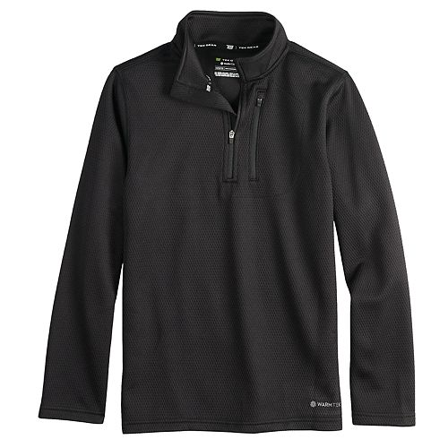 Boys 8-20 Tek Gear® Thermal Fleece Quarter-Zip Top