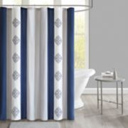 510 Design Donetta Embroidered Shower Curtain & Liner