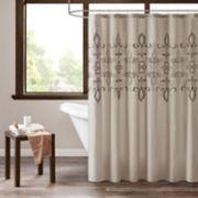 510 Design Salvan Embroidered Shower Curtain & Liner
