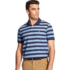 Men's IZOD Advantage Sport Flex Classic-Fit Striped Performance Polo