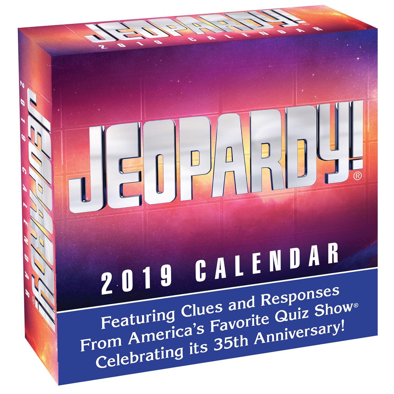 Jeopardy! 2019 Daily Desk Calendar