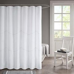 510 Design Talley Decorative Stitched Shower Curtain & Liner