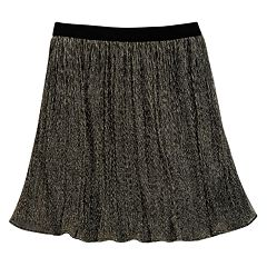 Girls 7-16 Maddie Sparkle Pleated Skirt