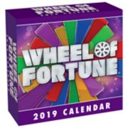 Wheel Of Fortune 2019 Daily Desk Calendar